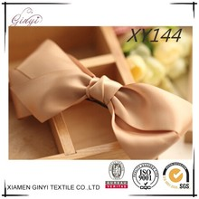 Fashion delicate solid color lovely girls bows hair ribbon