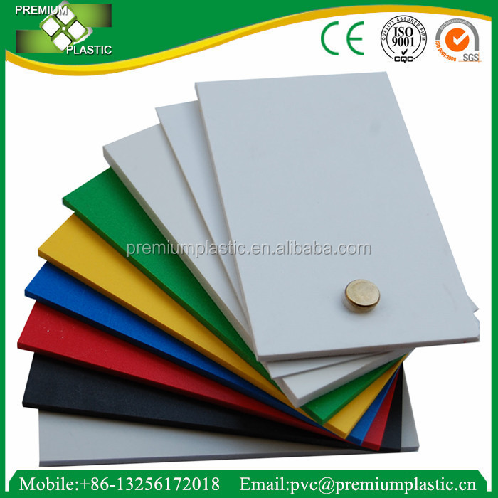 China manufacture PVC foam sheet paint plastic free board for advertising