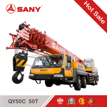 50 ton SANY used mobile crane QY50C hot sale