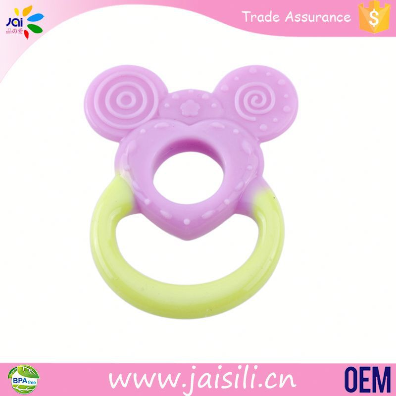 new product soft OEM packing soft baby teething toy handmade