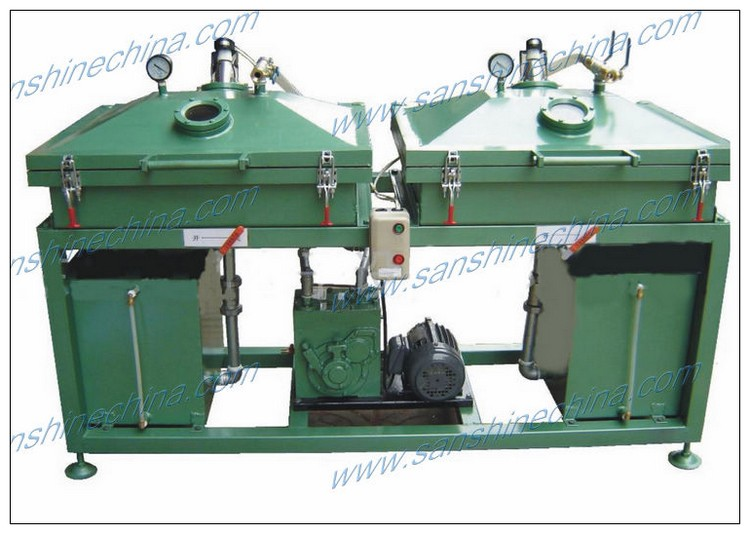 Transformer varnish soaking machine