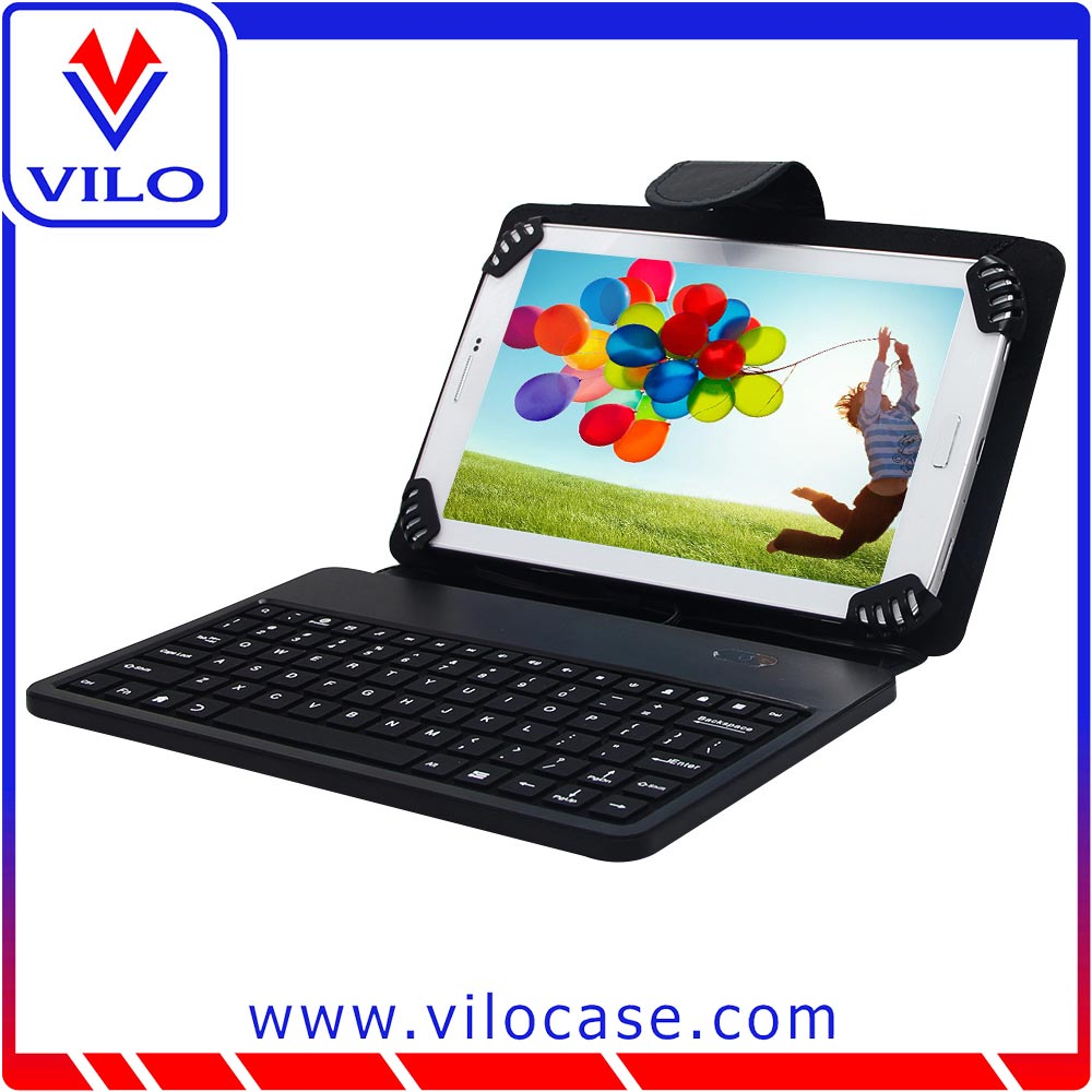 PU leather case for 13.3inch tablet pc leather keyboard case
