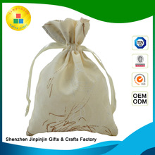 2016 fancy full bleached white recycled food grade cotton seed bags