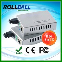 Buy from China factory directly 10/100M singlemode single fiber sc port media converter fiber wdm