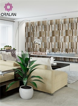 2017 cheap price high quality beautiful pvc vinyl wallpaper factory