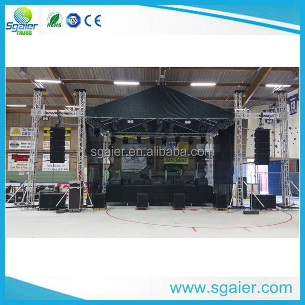 2017 Sgaier Stage truss /Aluminium Truss with Spigot connection