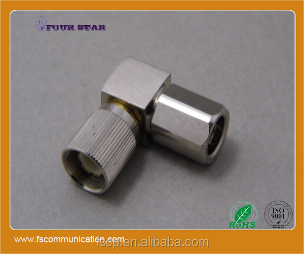 1.6/5.6 Connector Male Right Angle Clamp For BT3002 Cable C