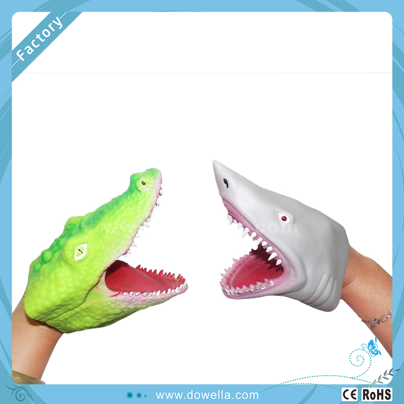Shark Toy Box : Fancy toy tpr shark hand puppets buy plastic puppet