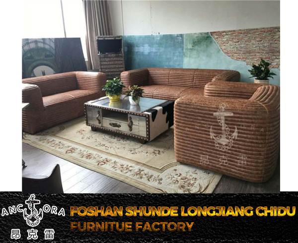 Modern furniture designed leather sofa kubus sofa A189