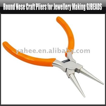Round Nose Craft Pliers for Jewellery Making Gjbeads,YFT110A
