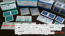 mingda good price aluminum foil paper,alcohol pad aluminum foil paper in roll