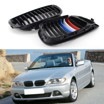 For BMW 3Series E46 Sedan 2001-2006 Vehicle Body Car Grille Grill