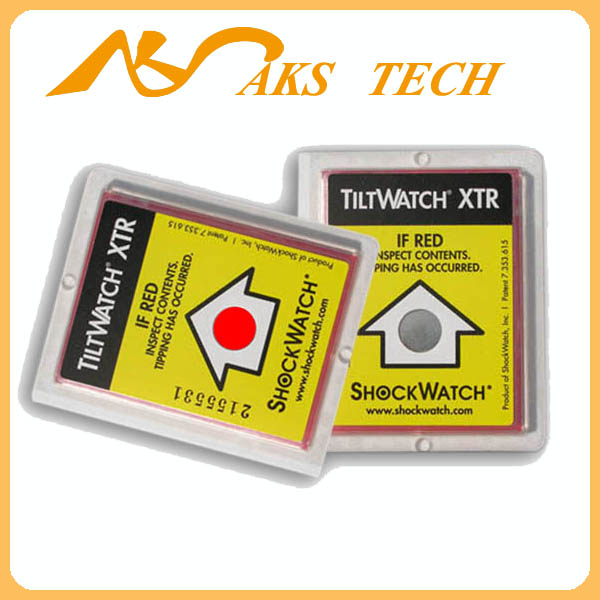 Single Angle Tilt Monitoring Label Tiltwatch XTR Indicator