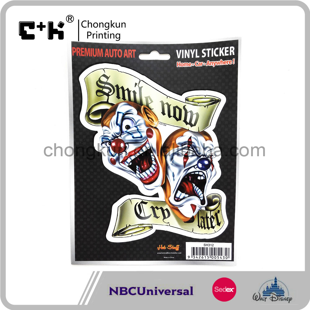 SEDEX/NBCU Halloween Joker Self- adhesive Vinyl Sticker