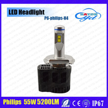 Best selling products in America led light, 55w h4, h8h7 HB3 HB4 H13 9004 9007 H16 9012 D1, D2, D3, D4 P6 Led