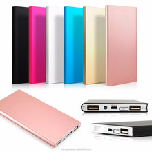 Ultra thin custom logo powerbank aluminum 4000mah slim power bank