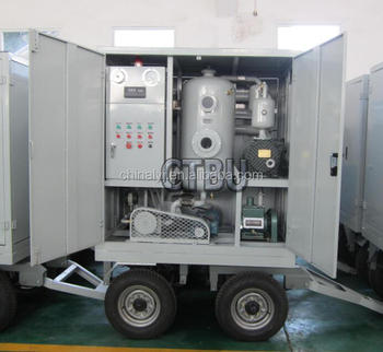 Mobile Trailer Transformer oil treatment plant with Dielectric oil treatment