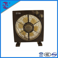 New product durable 5 blade 100-minute timer box fan turbo fan