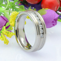 Fashion Titanium Rings Wedding Rings