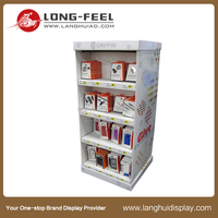 China supplier new design custom fire extinguisher cardboard rack suppliers