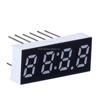 Red Color Cathode 7 segment led display four 4 digit seven segment display 0.56 inch numeric led digital display for electrics
