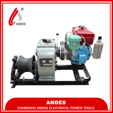 Andes 30 KN 50 KN 80 KN rope winch,diesel power winch,winch drum
