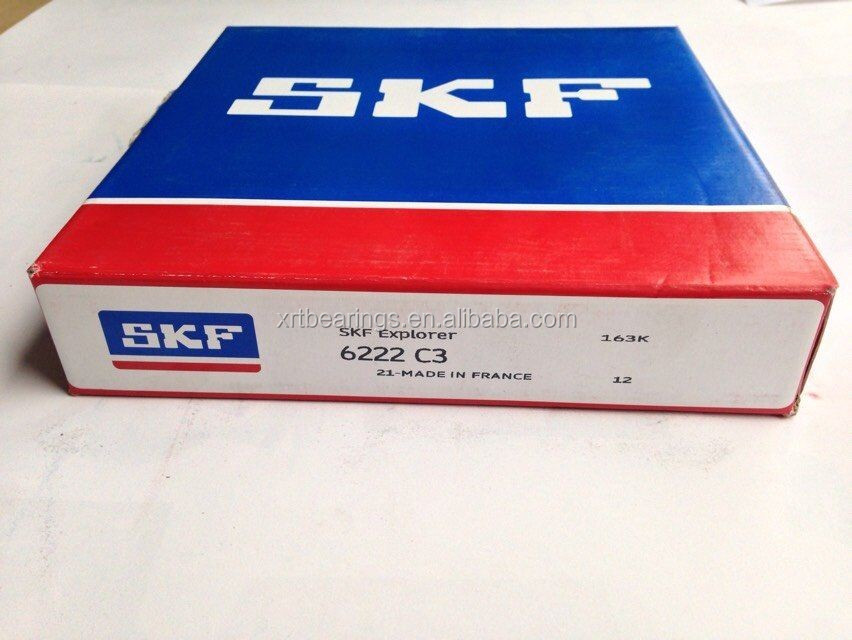 Origin From France SKF Ball Bearing 6222 C3 used in motorcycle
