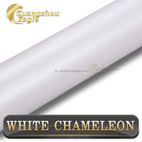 1.52*20M Glossy Pearl White Self Sticker Vinyl Car Wrap For Vehicle Part And Car Decoration