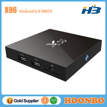 Quad Core Amlogic S905X Streaming Box Media Player X96 2GB RAM 16GB ROM Factory Wholesale