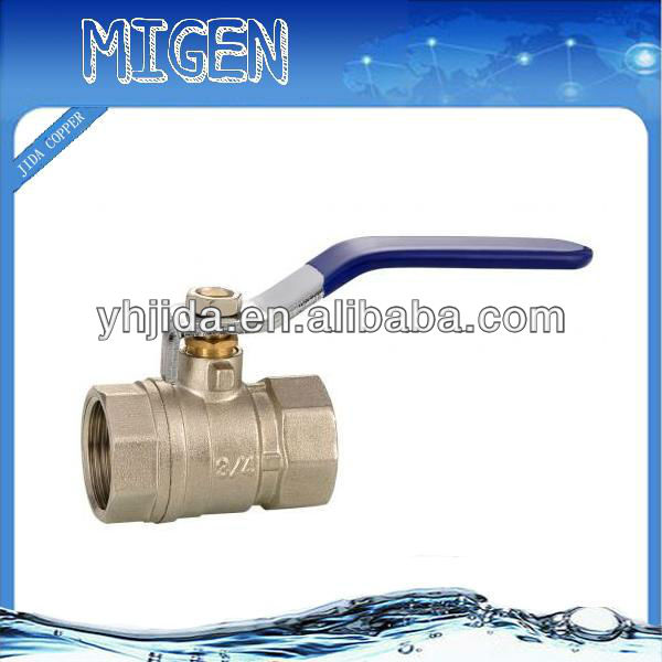 lead free brass CDA360 Full pore Brass ball valve, JD-4010