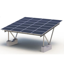 racking system car parking mounting structure support solar pv carport with aluminum bracket
