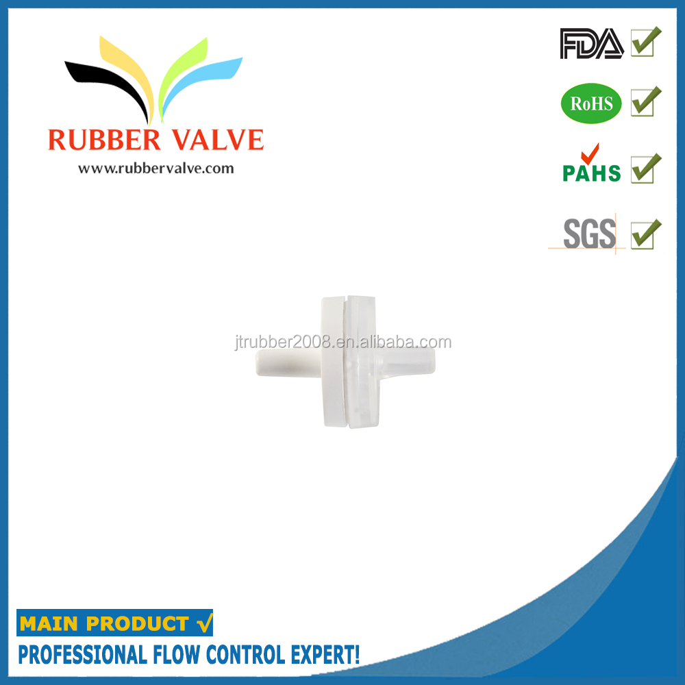 medical grade silicone inlet mini one way valves for gas