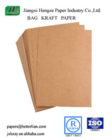 Uncoated Unbleached 85GSM Recycled Bag Kraft paper