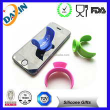 Novelty OEM design silicone cellphone stand&silicone cellphone stand