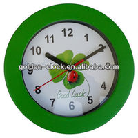 Table Clock, Desk Clock, Wall Clock with Art Picture Printed on Dial