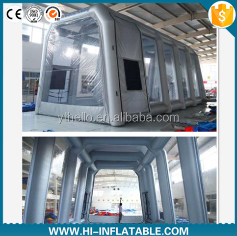 Mobile Automatic China factory mobile auto inflatable spray tan booth