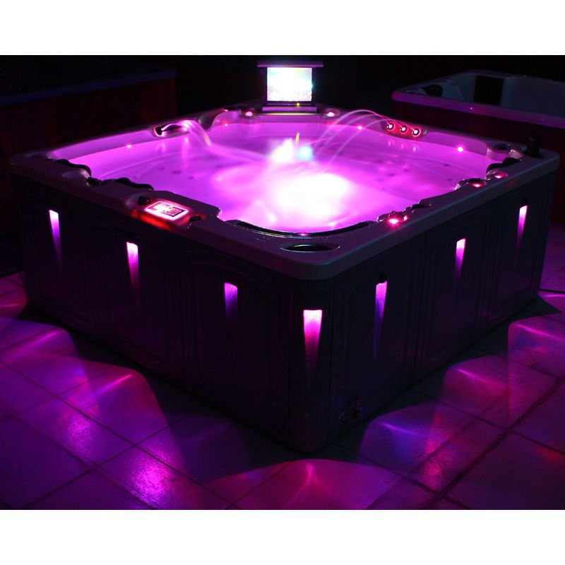 hot tub cleopatra massage bathtub luxury outdoor spa with led light buy outdoor spa outdoor. Black Bedroom Furniture Sets. Home Design Ideas
