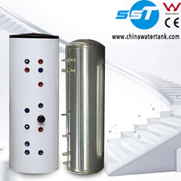 Hot selling SUS304 Solar Storage Tank Stainless Steel Solar Heater Tank Stainless Steel Solar Hot Water Tank