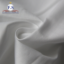 100% cotton herringbone twill fabric /white shirting fabric