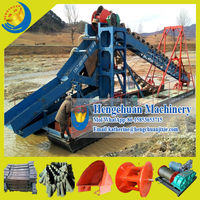 China Supplier Latest Technology Gold Mining Chain Ladder Bucket Dredger for Sale