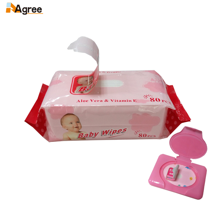 Pure Water Clean Wet Wipe Disposable Baby Wipe