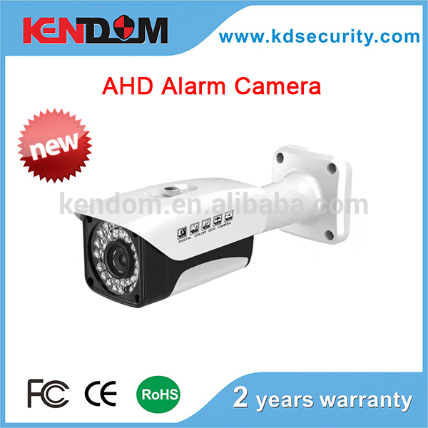 Kendom unique design alarm siren camera oem cctv security camera 2 years warranty rohs cctv camera