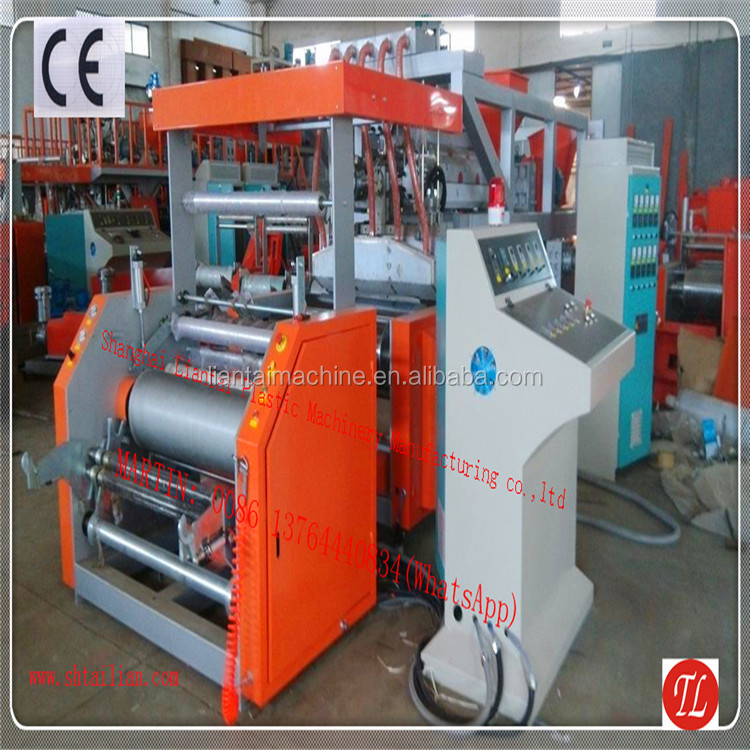 Double layer pallet stretch cling film wrap production line