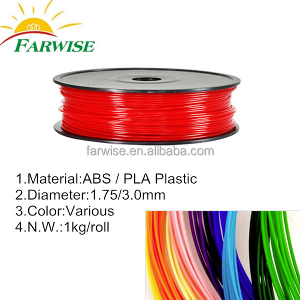 ABS PLA Plastic 3D Printing Materials China Factory Wholesale