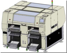 Panason AM100 SMT chip mounter pcb smt machine placing big IC with tray