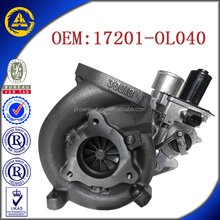 CT16V 17201-OL040 17201-OL040 supercharger for Toyota KZN130