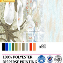 100% polyester coating textile for Latex/Latex printing fabric
