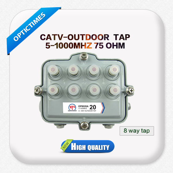 High quality CATV Outdoor passive tap off 8/4/2 way