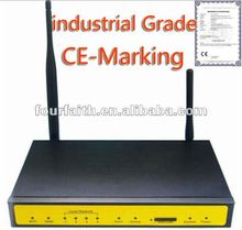industrial 3G router for 2G and 3G Networks supports all common VPN standards like IPsec, OpenVPN, PPTP, LT2P. With Ethernet and