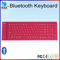 flexible keyboard silicone wireless bluetooth keyboard